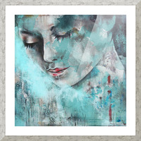 Demoiselle Picture Frame print