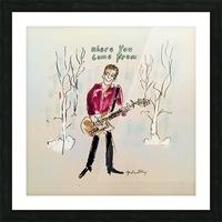 Britton Buchanan - The Voice Picture Frame print