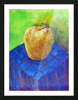 08.APPLE2014year oil on canvas 30X40 cm1500$ Picture Frame print