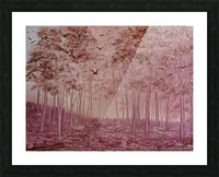Woodland Picture Frame print