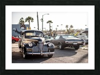 Classy Old school Car Picture Frame print