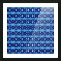 Mediteranean Morning Fractal Picture Frame print