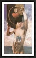 Amor by Franz von Stuck Picture Frame print