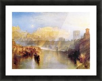 Ancient Rome; Agrippina lands with the ashes of Germanicus by Joseph Mallord Turner Picture Frame print