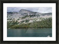 tenaya mountain Picture Frame print