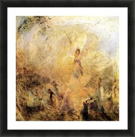 Angel in the sun by Joseph Mallord Turner Picture Frame print
