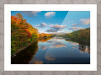 A Margaree Fall Picture Frame print