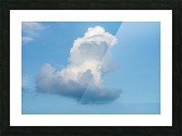 Cloud and blue sky Picture Frame print