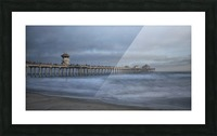 Stormy Picture Frame print