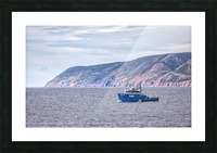 The Atlantic Gale Picture Frame print