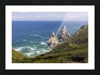 Praia da Ursa Picture Frame print