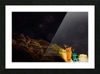 Starry Night - Al-Ula Monuments Saudi Arabia Picture Frame print