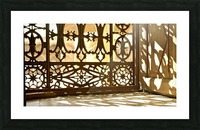 Egyptian Heritage Architecture Light & Shadow Picture Frame print