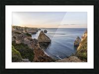 Praia do Camilo Picture Frame print