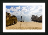 Praia do Camilo Picture Frame print