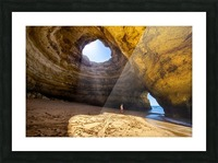 Benagil cave Picture Frame print