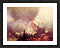 Avalanche by Joseph Mallord Turner Picture Frame print