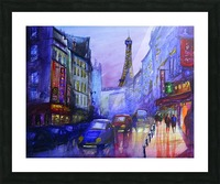 Evening in Paris Picture Frame print