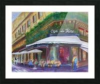 Cafe The Flore Paris Picture Frame print