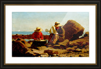 The Boat Builders_OSG Picture Frame print