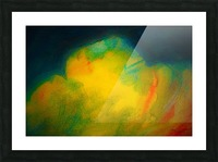 Colorful clouds Picture Frame print