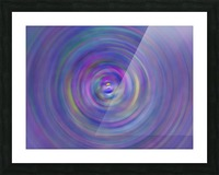 swirl color Picture Frame print