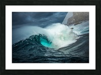 Dramatic Shippies Picture Frame print