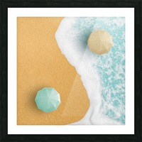 Yin and Yang. Picture Frame print