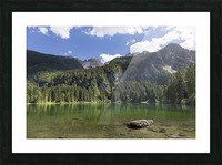 Lake of Tovel Picture Frame print