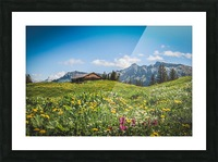 The Hills Are Alive Picture Frame print