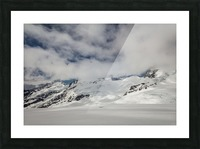 Clouds Crashing Picture Frame print