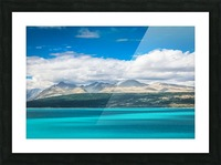 Lake Pukaki Picture Frame print