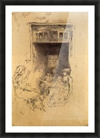 Bead Stringers by Whistler Picture Frame print