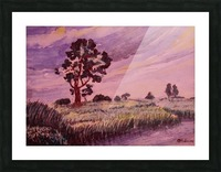 Evening Landscape 2 Picture Frame print