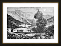 Bardonecchia View_OSG Picture Frame print