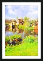 Scotney Castle Picture Frame print
