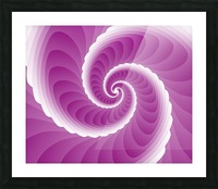 Pinky Art Picture Frame print