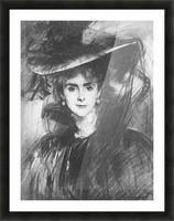 Baroness de Meyer by John Singer Sargent Picture Frame print