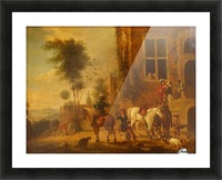 Before 1668 Picture Frame print