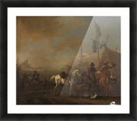 Een legerkamp Rijksmuseum Picture Frame print