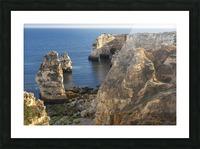 Praia de Marinha Picture Frame print