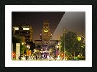 Batman City Hall  Picture Frame print