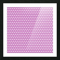 Pink Pattern Artwork Picture Frame print