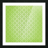 Islamic Green Art Picture Frame print