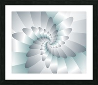 Swirl Wings Art Picture Frame print