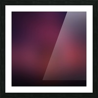 Blurred Red Background Picture Frame print