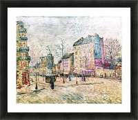 Boulevard de Clichy by Van Gogh Picture Frame print
