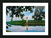 Furman University Picture Frame print