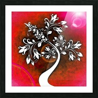 FLOWER TREE 03_OSG Picture Frame print