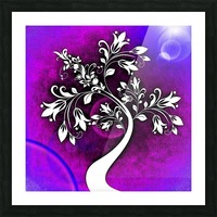 FLOWER TREE 01_OSG Picture Frame print